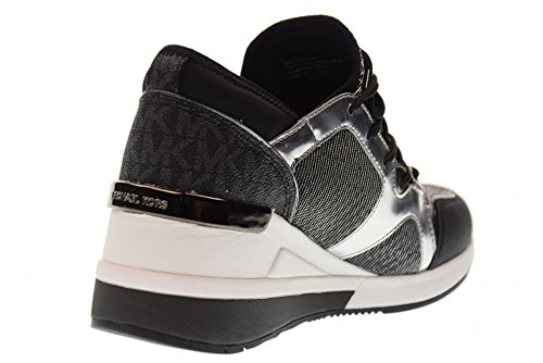 Scout Donna Trainer black Sneakers Kors 43f7sc3d Silver Micheal FfqzvwF