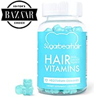 SugarBearHair Vitamins, Vegetarian Gummy Hair Vitamins with Biotin, Vitamin D, Vitamin B-12, Folic Acid, Vitamin A (1 Month Supply)