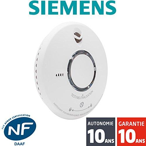 Siemens - 5TC1292-2 Detector de humo Delta Reflex 10 años de garantía: Amazon.es: Bricolaje y herramientas