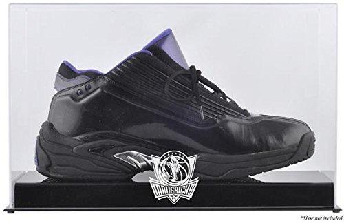 Mounted Memories Dallas Mavericks Team Logo Basketball Shoe Display Case (Shoe Nba Mavericks Basketball)