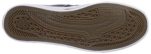 Dockers by Gerli 36AY60 - zapatillas deportivas altas de lona infantil gris - Grau (grau 200)