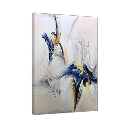 Tableau Peinture Acrylique Peinte à La Main Moderne Abstract Sur Toile Image Salon Et Chambre Decoration Art,60×90cm