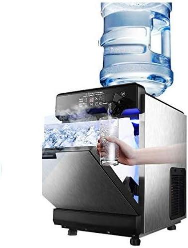 Kommerzielle Eiswürfelbereiter Eismaschine Eis Würfel Maschine Edelstahl 45 Stck