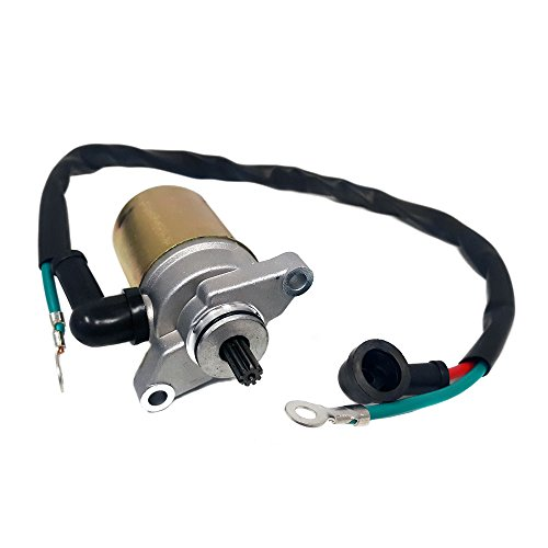 Starter Motor Yamaha JOG/ Minarelli 2 Stroke Engines - Shaft 9mm Diameter, 15mm Lenght Lenght Shaft