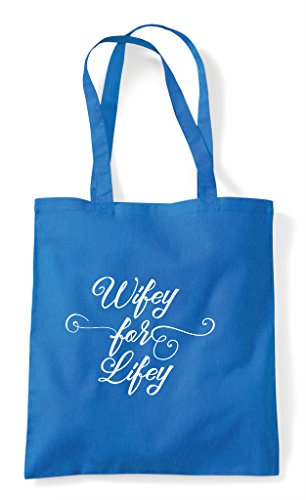 Shopper Customised Party Wifey Tote Personalised Do Bag Hen For Sapphire Lifey Hen RZpqwB