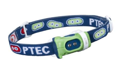 Princeton Tec Bot Headlamp (15 Lumens, Green/Blue)