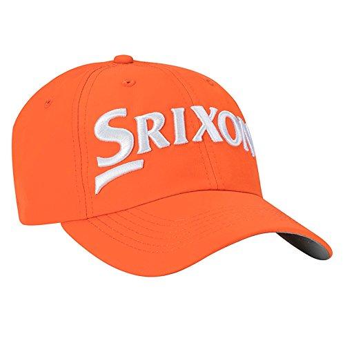 Srixon Golf Mens Unstructured Hat, Orange, One Size Fits All
