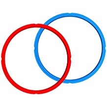 Instant Pot RING-3-BLUE-RED-2 Sealing Rings, 2 Pack, 3 Quart, Blue
