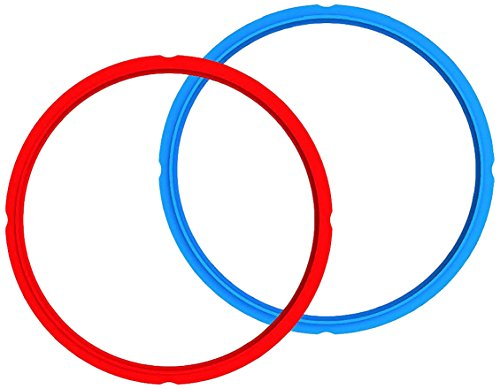 (Instant Pot Sealing Rings 2-Pack - Mini 3 Quart Red/Blue)