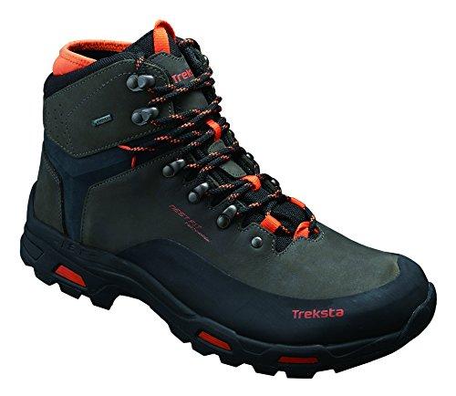 Treksta -Vertex GTX. Bota de montaña (color Black/Orange, tecnología NESTFIT)