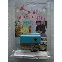 Pocket Digital Lomo Camera with Keychain SQ30m - Navy At A Glance Review Image