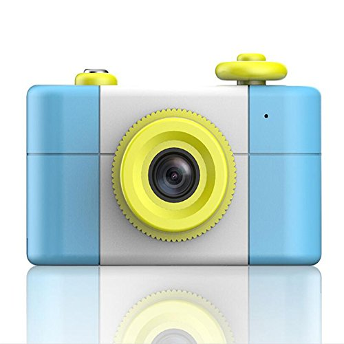 Ocamo - Minicámara digital para niños de estilo retro, cámara portátil (sin tarjeta de memoria)