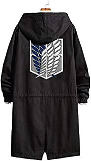 Gumstyle Anime Attack on Titan AOT Hoodie Strench Coat Adult Windbreaker Jacket