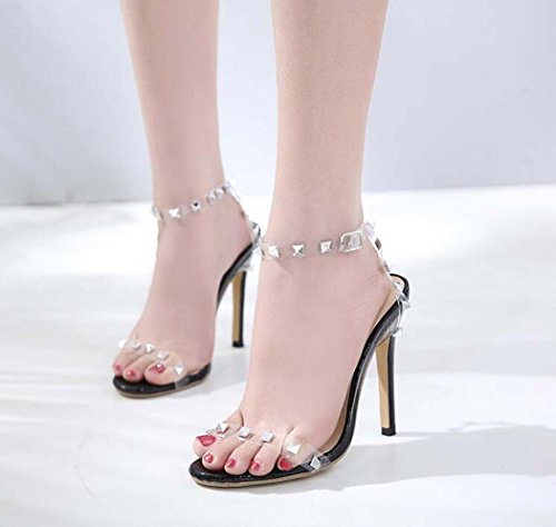 Zapatos Remache Sandalias Mujer de Tac de q6nHS4f