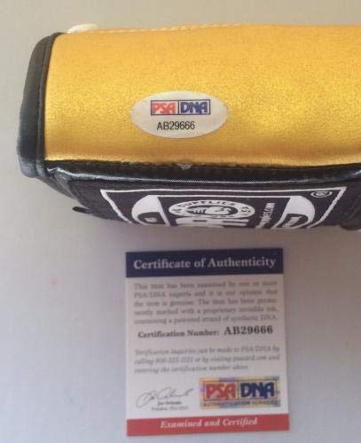 Manny Pacman Pacquiao Signed Boxing Glove Autographed COA Pro Face PSA/DNA Certified Autographed Boxing Gloves