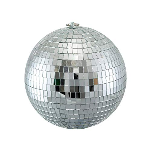 Houseables Disco Ball, Hanging Mirror Balls, 8 Inch, Small, DJ Lights, Party Decoration, Lighting Effect, Reflective Stage Lights, Rotating Decor, Mirrow Discoe Ballis, Indoor Outdoor 70s 80s Parties]()