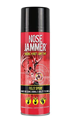 Nose Jammer Natural Scent-Masking Aerosol Field Spray, 4 oz.