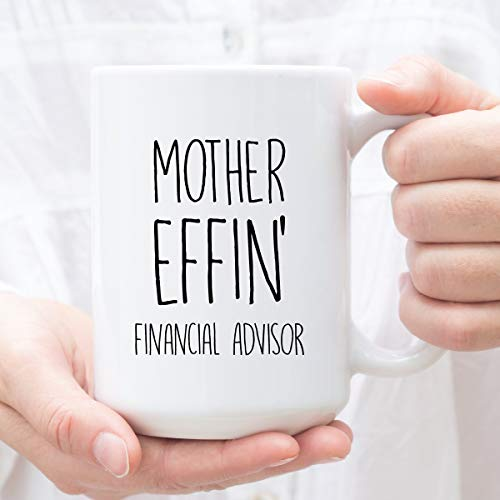 Financial Advisor Gifts Expletive Gift for Financial Advisor Perfect Financial Advisor