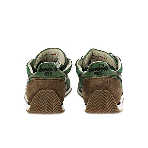 Verde Fogliame S marrone per Equipe Heritage C5955 Uomo Sneakers Diadora Cioccolato e SW Donna 1PAHxv7qw