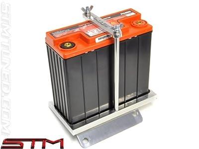 Stm Small Battery Kits Evo Viii-ix Brushed Aluminum Tray With Odyssey Pc680