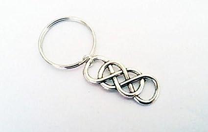 Llavero Infinity con símbolo de infinito, colgante para ...