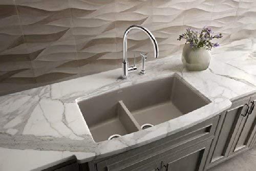 Blanco 441309 Performa 1.75 Medium Bowl Sink, Metallic Gray