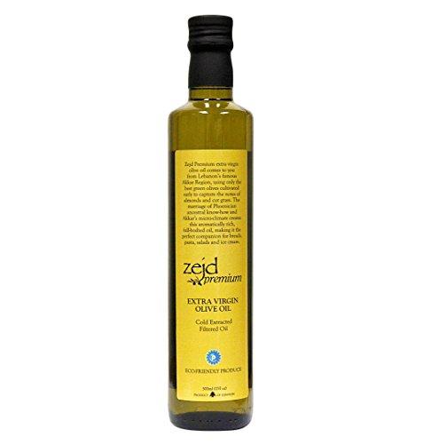 Zejd Premium Extra Virgin Olive Oil (Best Lebanese Olive Oil)