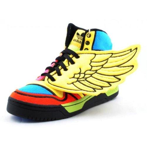 Adidas Jeremy Scott JS Wings Rainbow Mens Shoes G61380 Sun 10 M US (Adidas Js Wings)