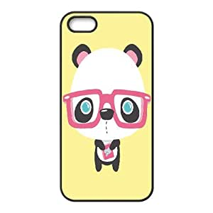 LEMON Chinese style Cute girl pandas illustration Phone Case For iPhone 5,5S [Pattern-1]