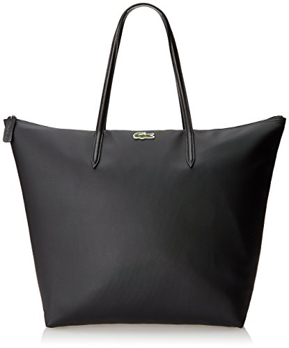 lacoste-womens-concept-travel-shopping-bag-black-one-size
