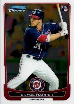 Bowman Chrome Baseball Harper Rookie product image