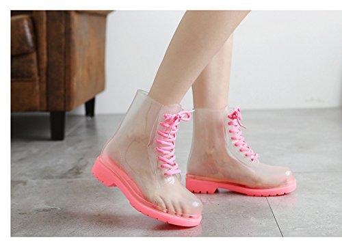 Botas mujeres botas de goma Botas lluvia lluvia las agua botas botas de lluvia Botas botas diesel de lluvia de invierno botas cortas botas de de de Scothen lluvia Pink las de botas botas Chelsea de botas Ttnqwdt