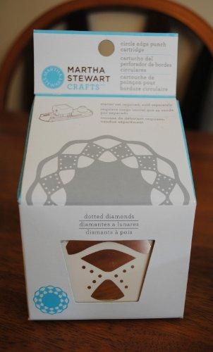 Martha Stewart Crafts Circle Edge Paper Punch Cartridge, Dotted Diamonds