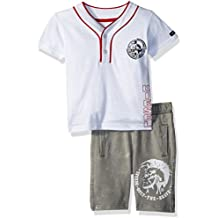 Diesel Baby Boys T-Shirt and Short Set