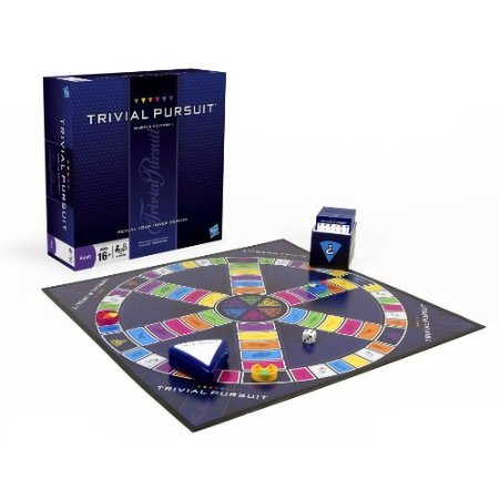 Amazon. Com: trivial pursuit genus edition glass game: toys & games.