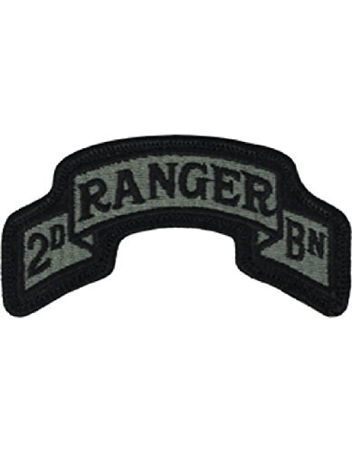 75th Ranger 2nd BN ACU Patch Foliage Green ()