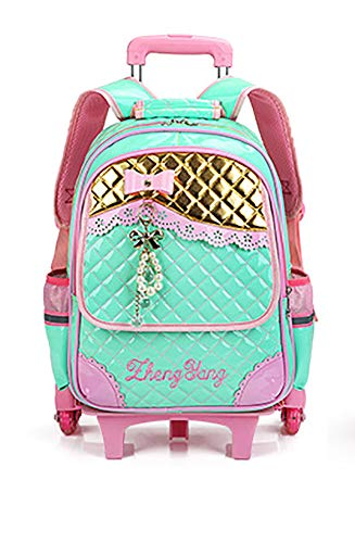 47c04488b113 Meetbelify Rolling Backpacks For Girls School Bags Trolley - Import It All