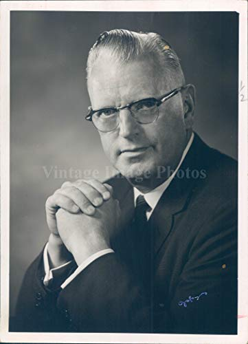 1966 Photo W Max Moore Realty President Denver Executive Portrait Founder Man