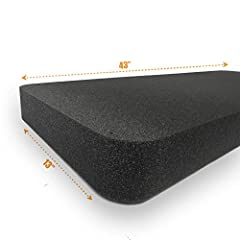 """1 piece - Replacement foam for Plano case 108442 Product Description: Replacement foam insert for Plano case 108442 Includes: 1 Piece - 2.50"""" Thick Solid Pads - (Not Pick N' Pluck) Overview: Polyurethane foam is the most common type of foam u..."""