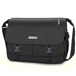 Bekahizar Messenger Bag for Men Women 15...