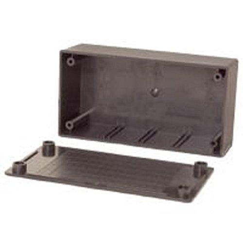 Caja Negro, De pl/ástico, 130 mm, 70 mm, 45 mm Velleman WCAH2853