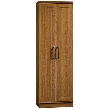 Sauder HomePlus Basic Storage Cabinet, Sienna Oak