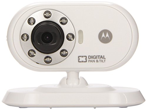 "Motorola MBP26 Wireless 2.4 GHz Video Baby Monitor with 2.4"" Color LCD Screen, Infrared Night Vision and Remote Camera Pan, Tilt and Zoom (Amazon.com Exclusive)"