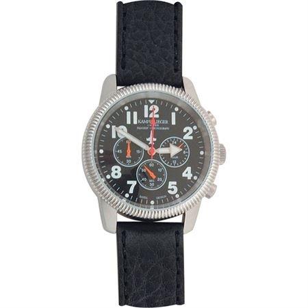 (China Made M2681 German Air Force Chronograph German Airforce Chronograph with Black Face )