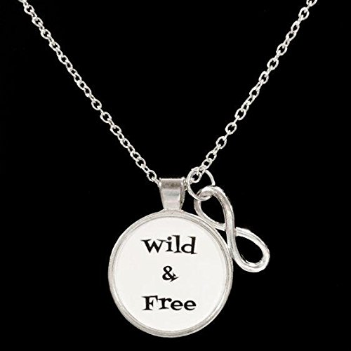 [Wild And Free, Infinity Necklace] (Spirt Halloween)