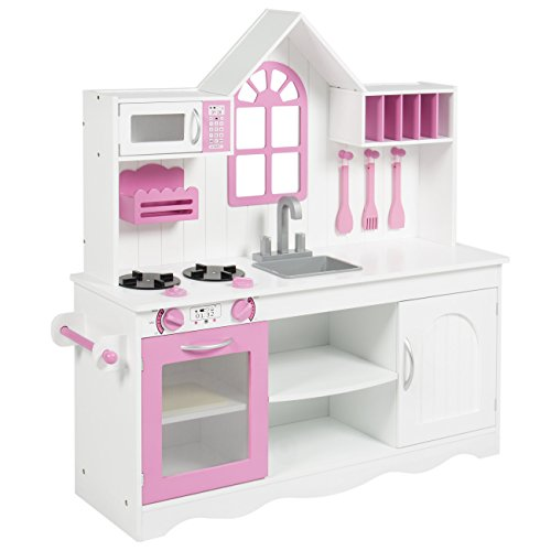 Best Choice Products BCP Kids Wood Kitchen