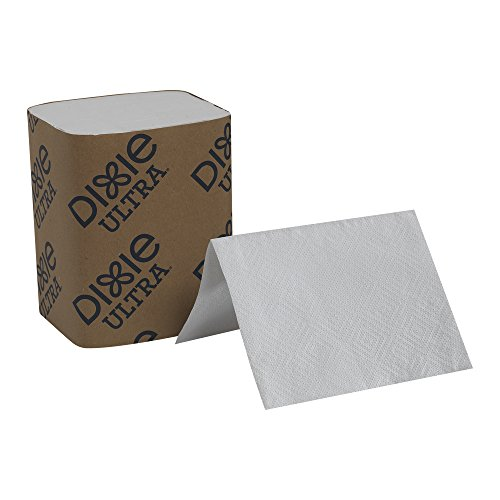 Dixie Ultra Interfold 2-Ply Napkin Dispenser Refill (Formerly EasyNap), GP PRO, 32006, 6.5