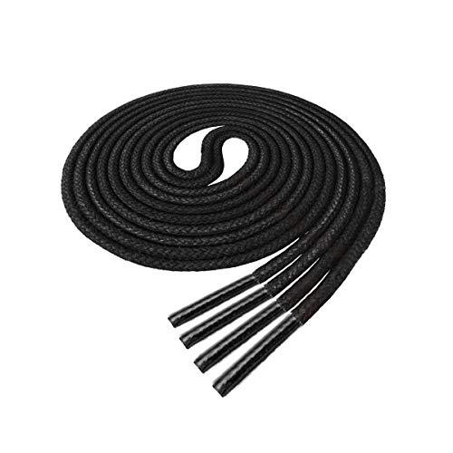 shoe laces black 35 - 8