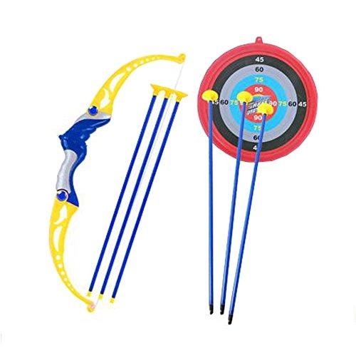 Juego de tiro con arco y flecha con arco para niños con juego divertido para jardín al aire libre Target, A6