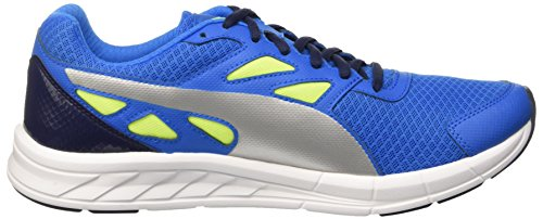 Puma Driver Sneaker Lemonade Electric Blue/Silver/Yellow Safety 8